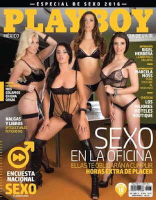Revista PlayBoy México Septiembre 2016