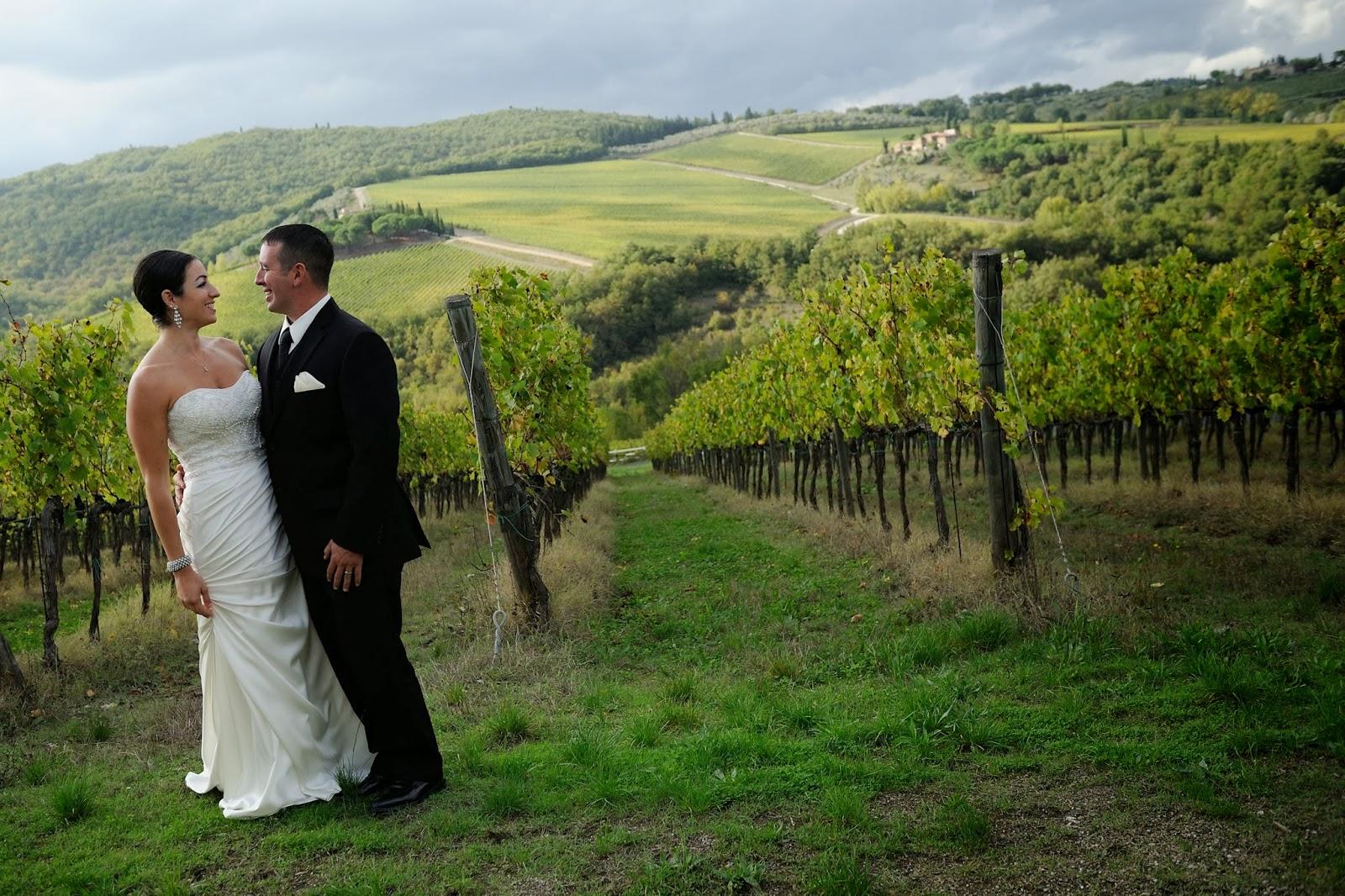 Italian wine blogger discussing Italian wines