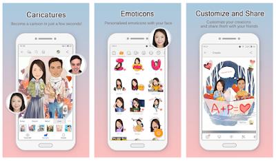 Aplikasi Untuk Mengubah Foto jadi Kartun Berwarna di Android 2018