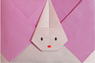 gấp xếp phong bì bằng giấy - how to make an origami rabbit envelope
