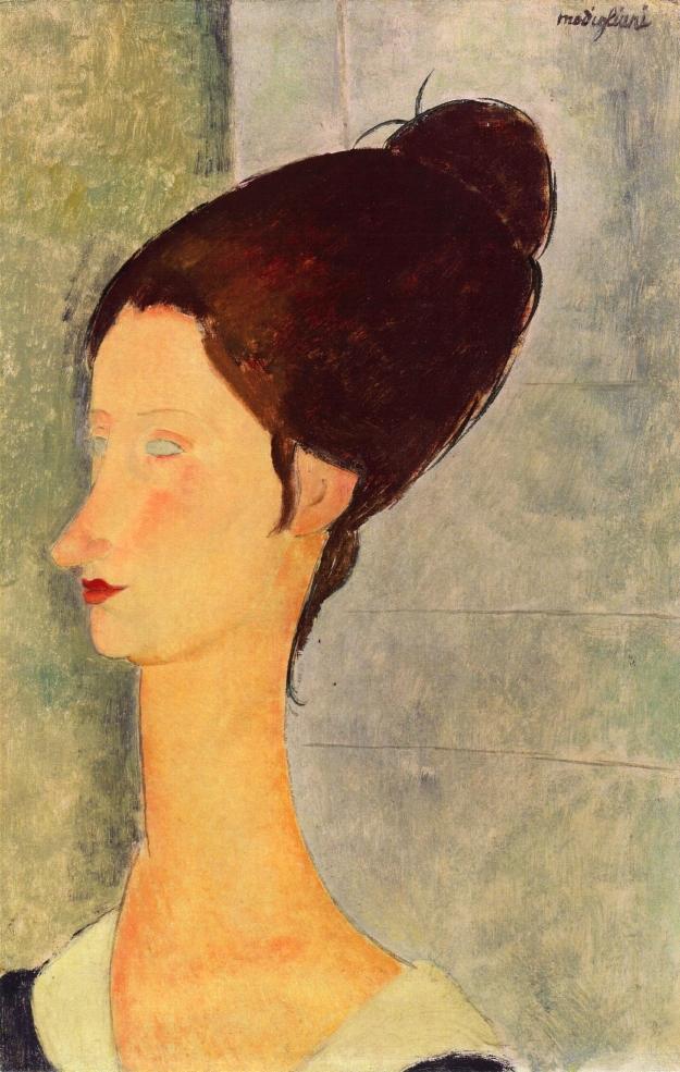 Jeanne Hébuterne (1898-1920) , La femme au collier, modèle