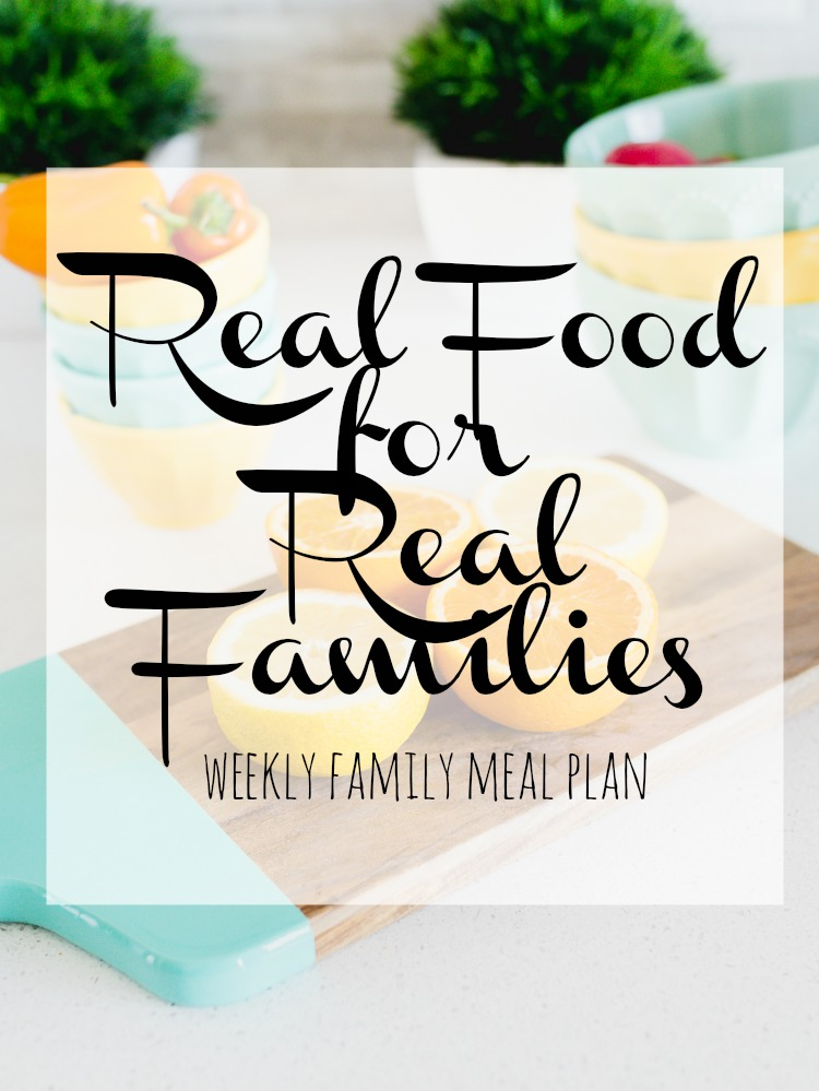 Weekly Family Meal Plan 2018 Week 6