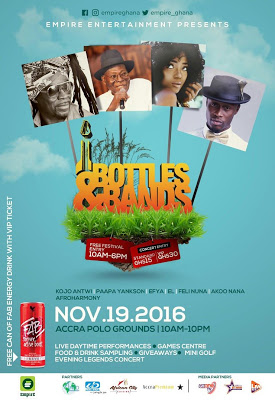 Kojo Antwi, EL, Paapa Yankson To Perform At Empire Entertainment's 'Bottles and Brands'