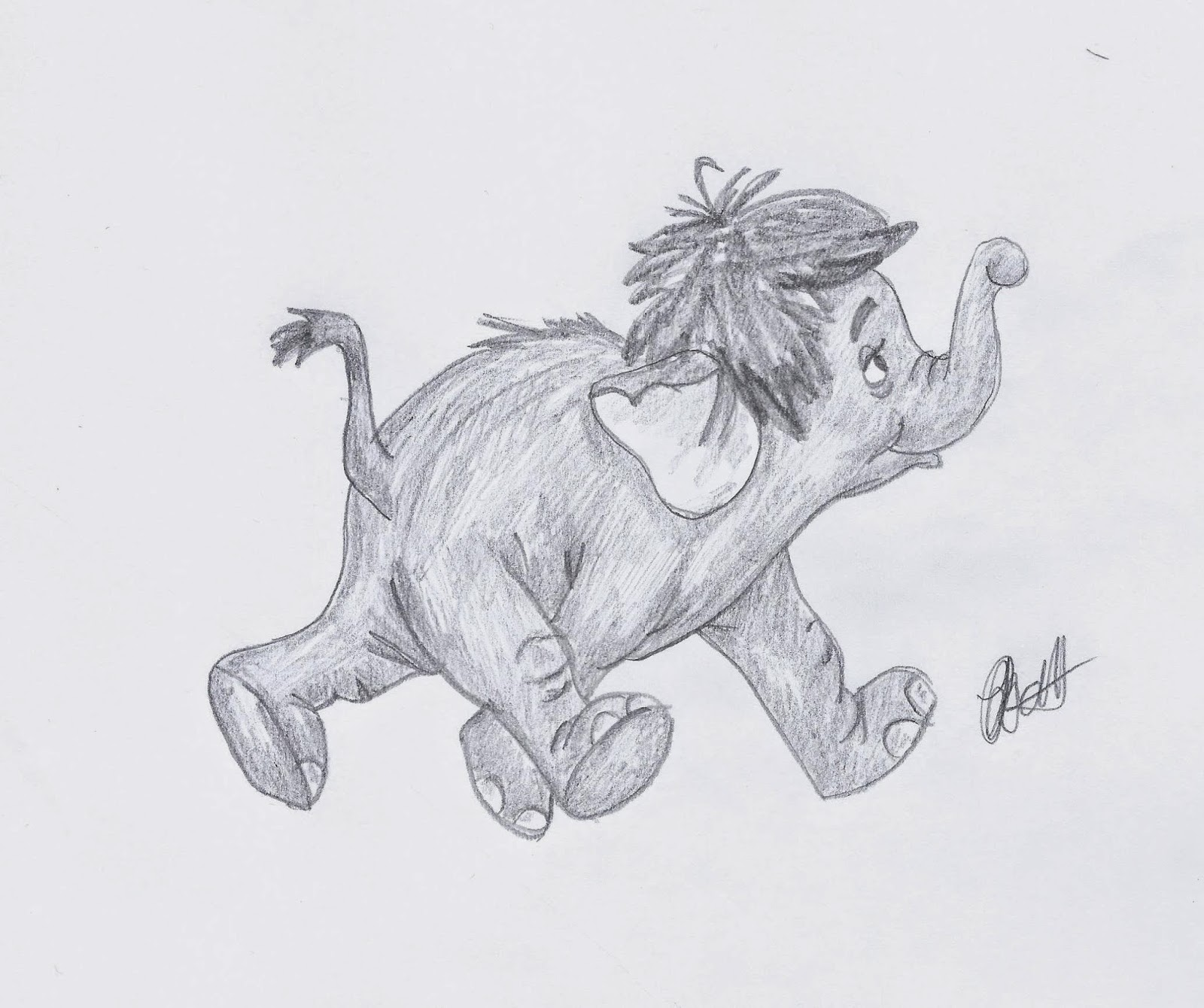 Disney Study: The Jungle Book. Baby elephant #Disney