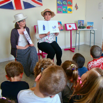 Diary of a Bibliothécaire French Village Diaries Franco/Anglais story time