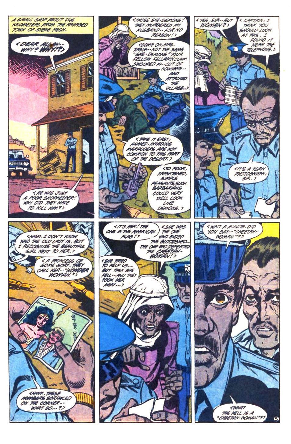 Read online Wonder Woman (1987) comic -  Issue #33 - 6