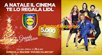 Logo Con Lidl vinci 20.000 buoni cinema Stardust ''Poveri ma ricchi''