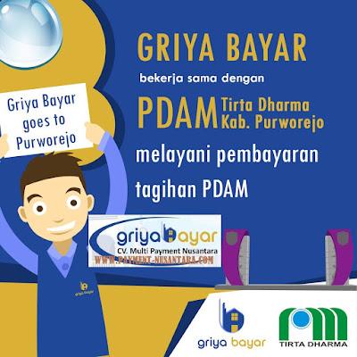 Cara Daftar Griya Bayar Loket Pembayaran PDAM Kabapaten Purworejo