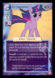 My Little Pony For Equestria! Absolute Discord CCG Card