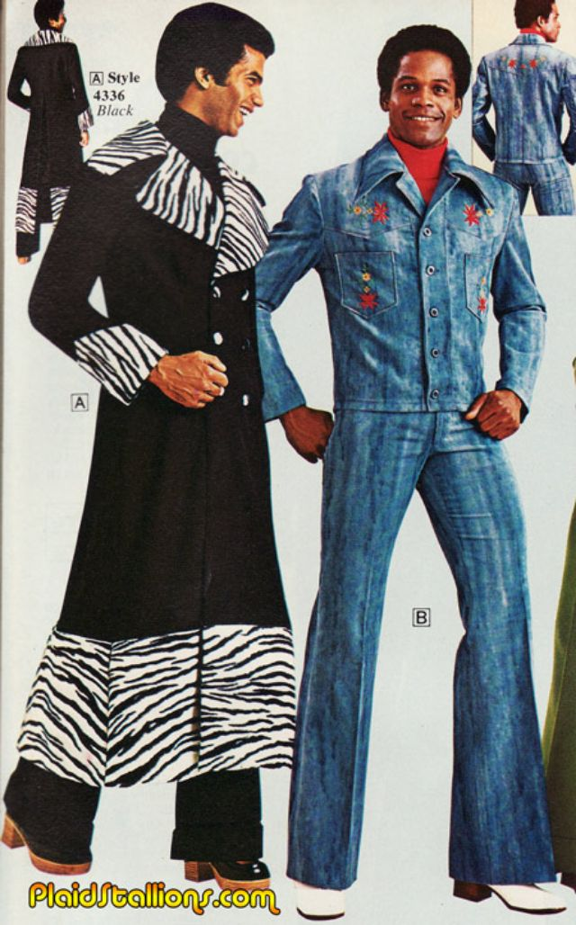 In the 1970s Real Men Wore Flared Trousers and Flowery T ...