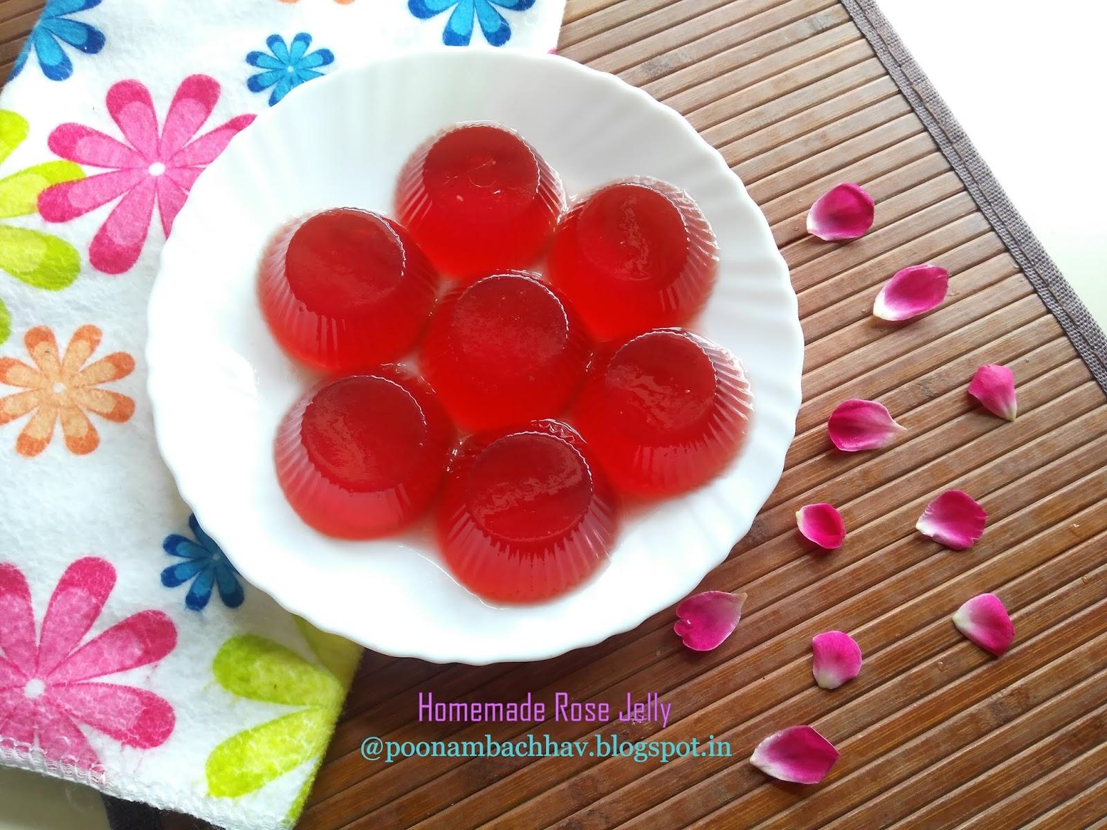 Annapurna Homemade Rose Jelly With Agar Agar