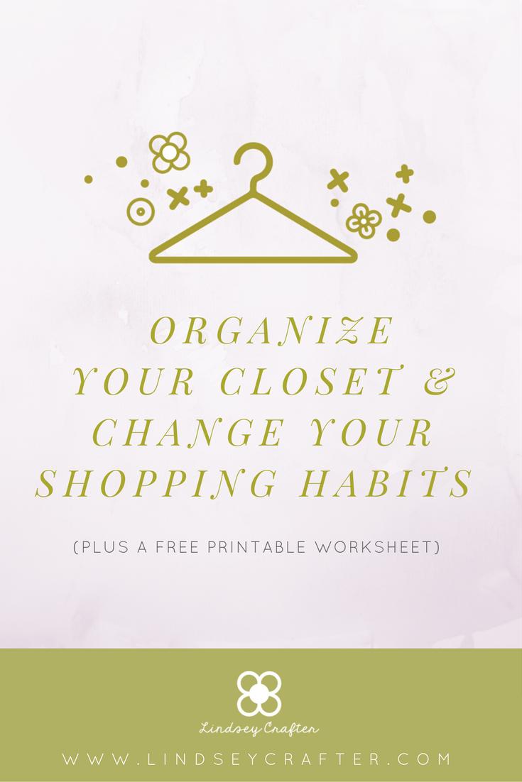 How to Organize Your Closet + Printable Closet Evaluation ...