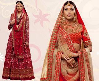 Latest-unique-indian-designer-bridal-saree-collection-for-brides-1