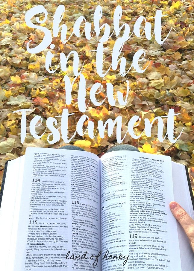 Here's what the New Testament says about Sabbath rest | Land of Honey