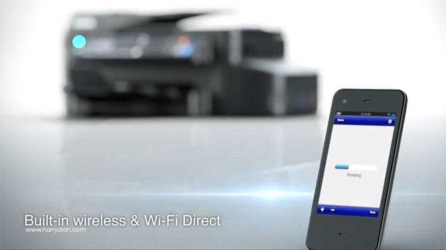 Begini Cara Menggunakan WiFi Direct Printer Epson L565 Series