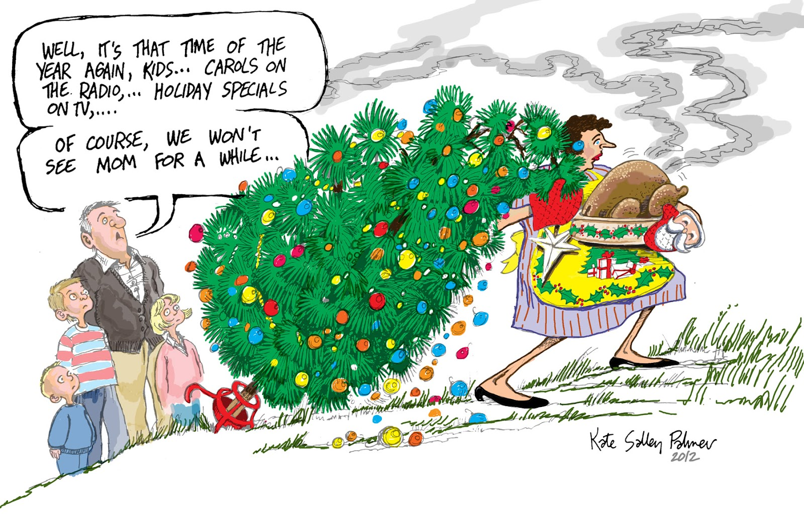 Mother Christmas Cartoon.Pretty Is As Pretty Does Another Mother Martyr To