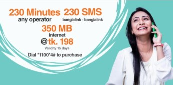 Banglalink+minutes+sms+internet+Bundles+Offer