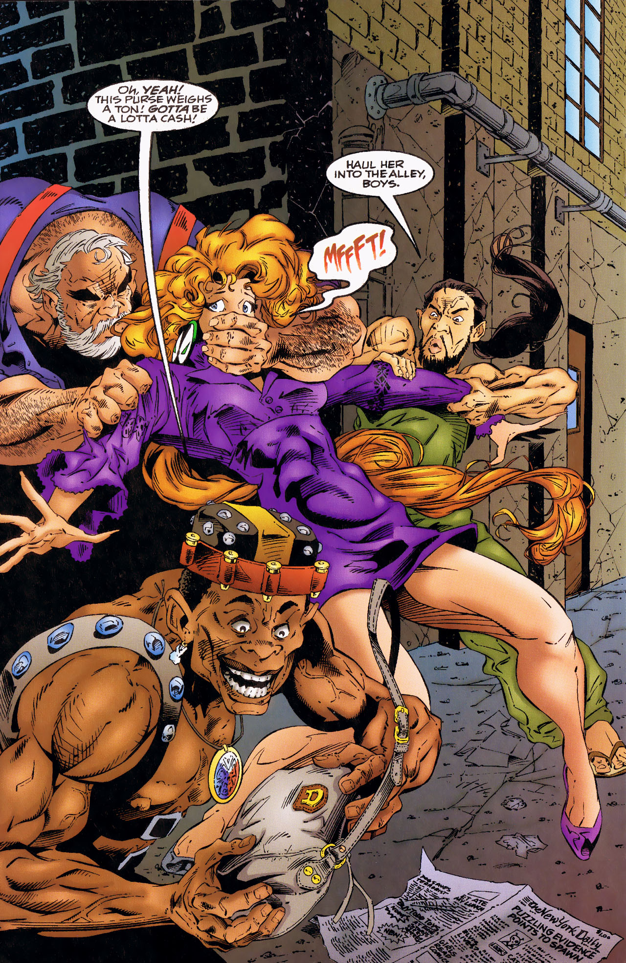 Read online Angela (1994) comic -  Issue #0 - 4