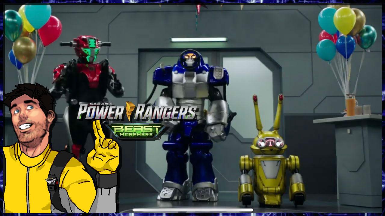 Comic Frontline: Power Rangers Beast Morphers S1 Ep7