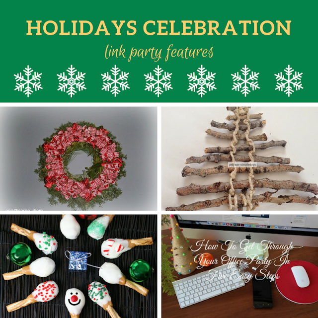 Holidays Celebration Link Party #2