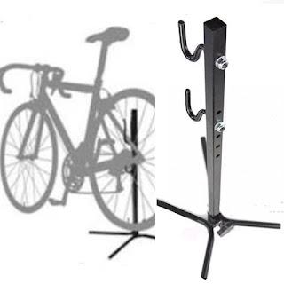 Bike Stand Pancing Model Besi Kotak Lebih kuat