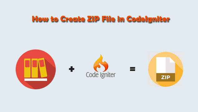 Make and Download Zip File using Codeigniter