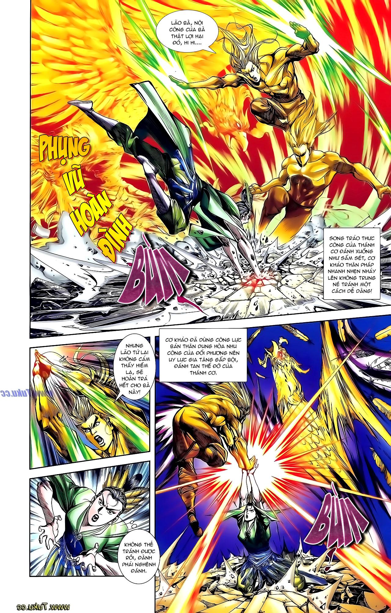 Cơ Phát Khai Chu Bản chapter 131 trang 5