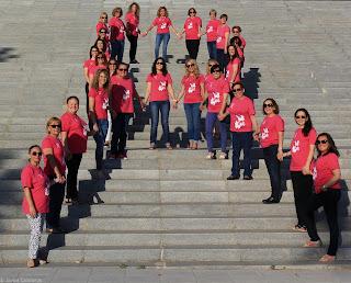 Calendario rosa de mujeres que luchan contra el Cáncer de Mama - Blog Crónicas de un Monigote