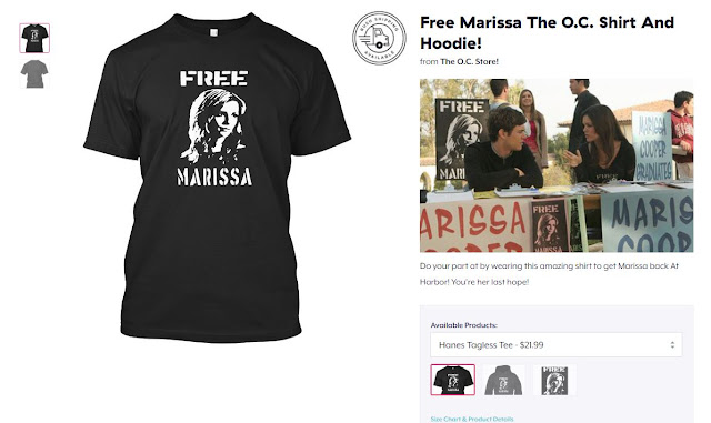 free marissa the oc shirt tshirt black