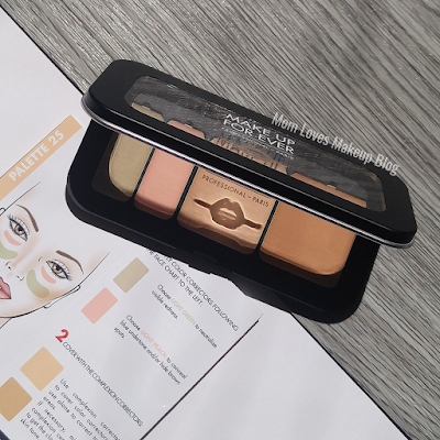 MAKE UP FOR EVER's Ultra HD Underpainting Color Correction Palette light 25 swatches