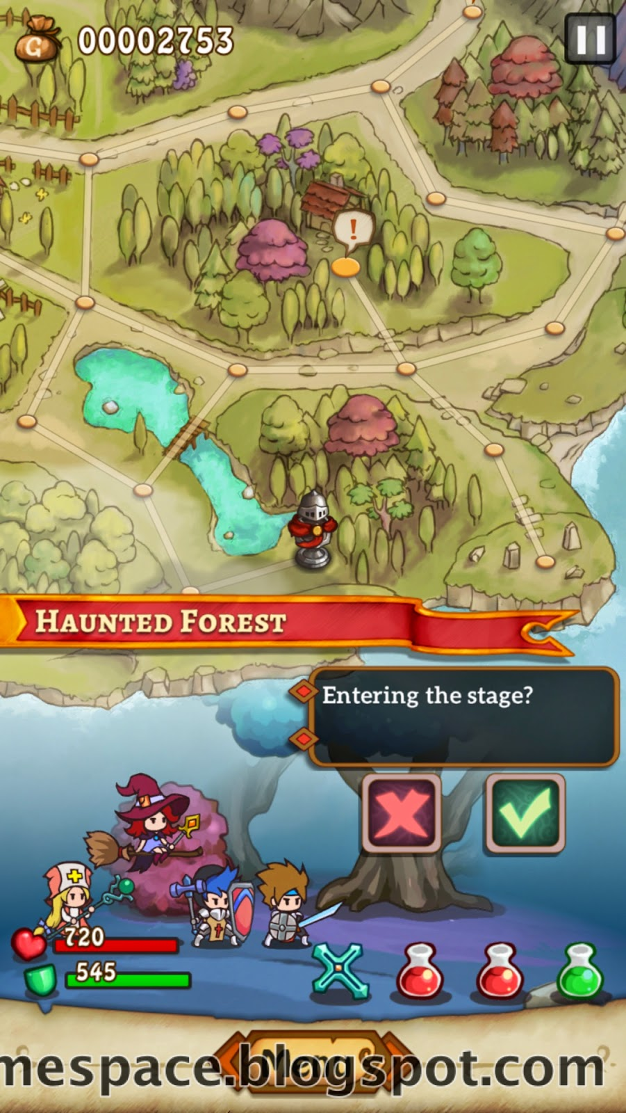 hero emblems heist haunted forest