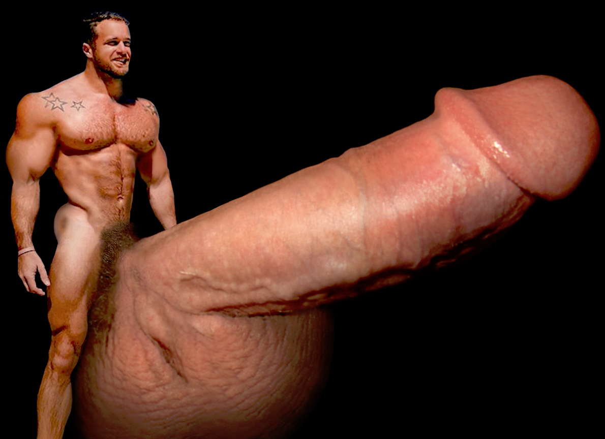 How big dick big muscle thought differently