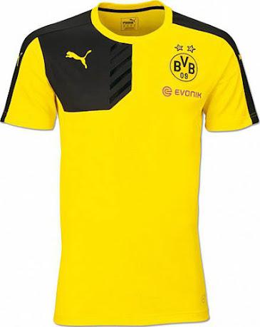 new product c11a1 08399 Puma Borussia Dortmund 15-16 Training Shirts Released ...