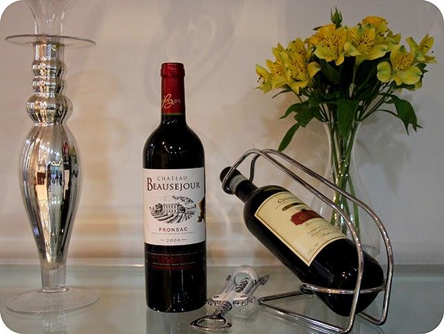 Vinhos no Jantar de Noivado