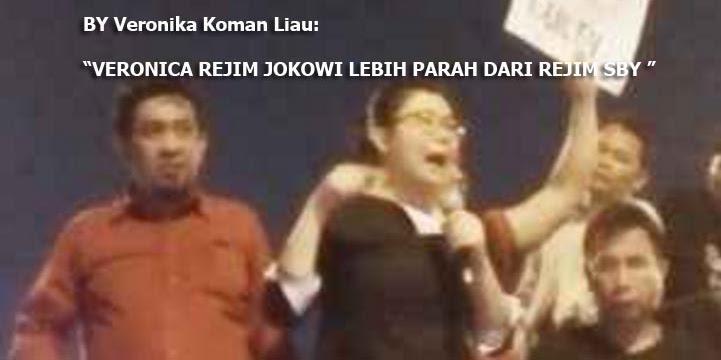 Diancam Akan Dipidanakan, Veronica Ahoker Penghina Jokowi Kabur ke Luar Negeri?