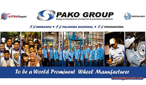 Lowongan Kerja Pako Group ( PT Pakoakuina ) Karawang
