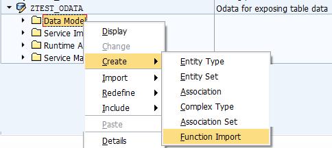 Function Import in SAP Gateway OData service - SAP ABAP,SAPUI5,SAP