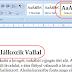 Hogyan írjunk ebookot? - Formázás II.
