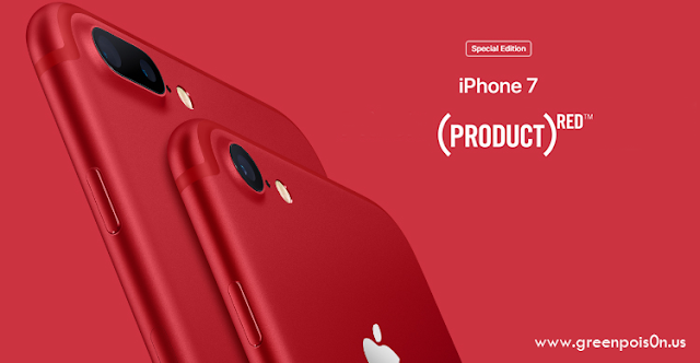 Apple Announced The Special Edition Of The iPhone 7 And iPhone 7 Plus RED (Product)
