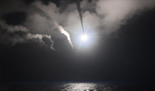 U.S. Strikes Syrian Military Airfield In First Direct Assault On Bashar Al-Assad's Government