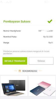 pembayaran pulsa gratis indosat im3 ooredoo