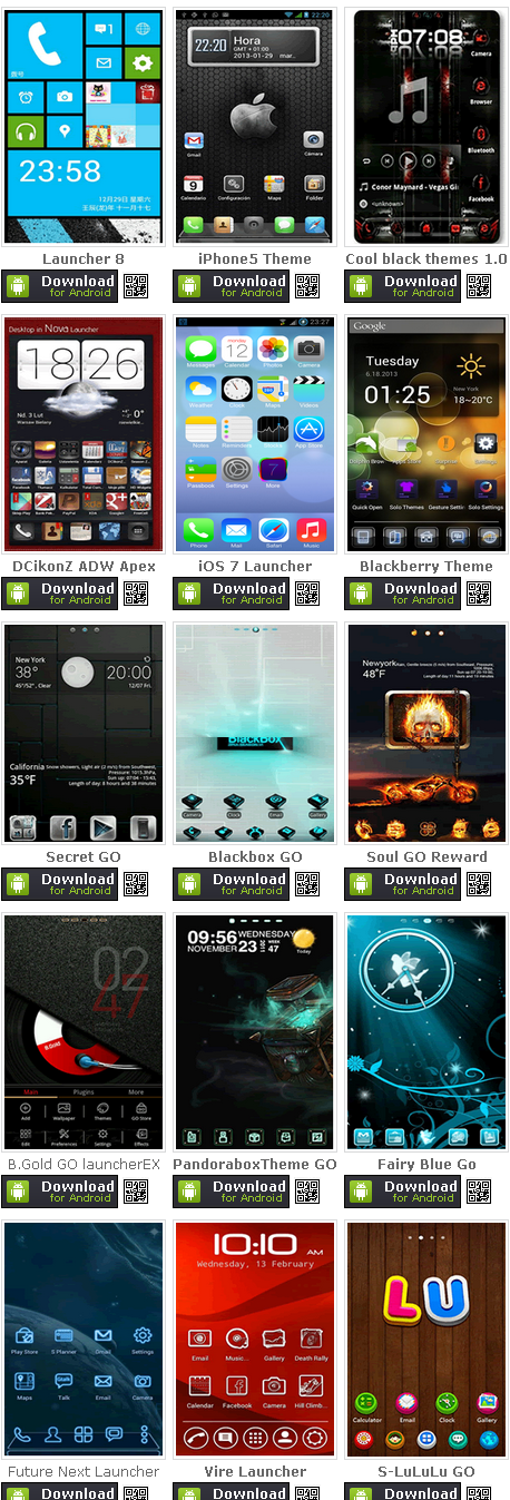 Download Tema Android Super Keren