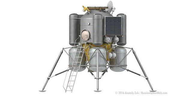 Módulo lunar de Rusia