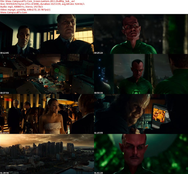 Linterna Verde [Green Lantern] 2011 [DVDRip] Subtitulos Español Descargar