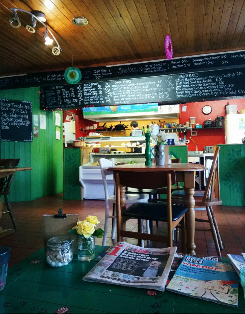 vegetarian cafe