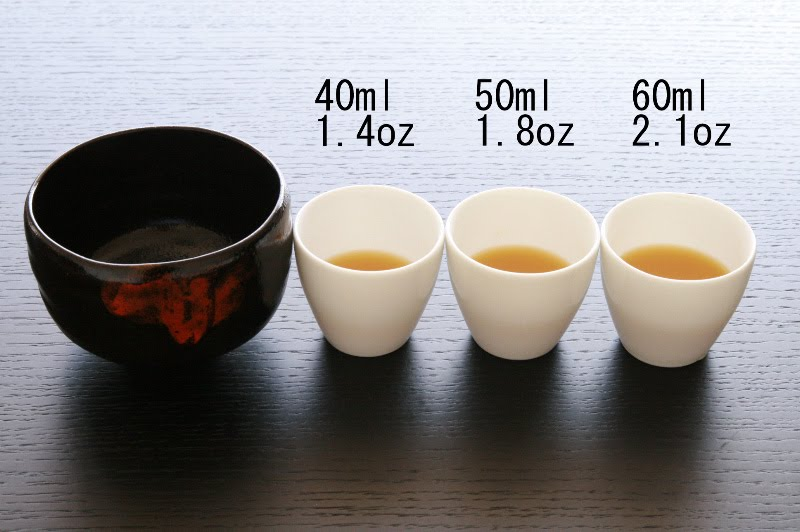 tales of japanese tea adjust the amount of ingredients
