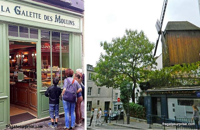 Paris: La Galette des Moulins, Montmartre