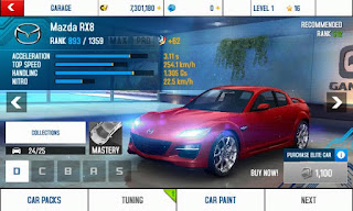 Download Asphalt 8 v2.4.0h Mod Apk (Free Shopping and Unlock All Car)