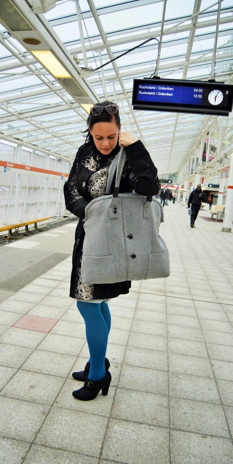 Miesten weekend laukku : Weekend laukku miesten puvuntakista kototeko