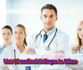 list medical colleges  bihar